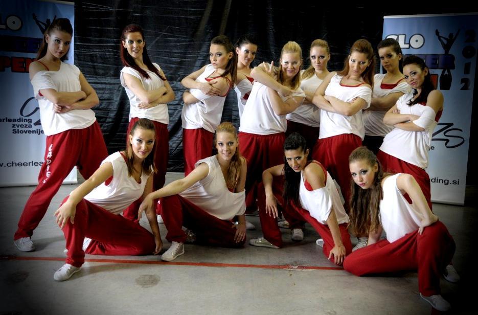 Foto: Cheerleading zveza Slovenije & Boštjan Pulko