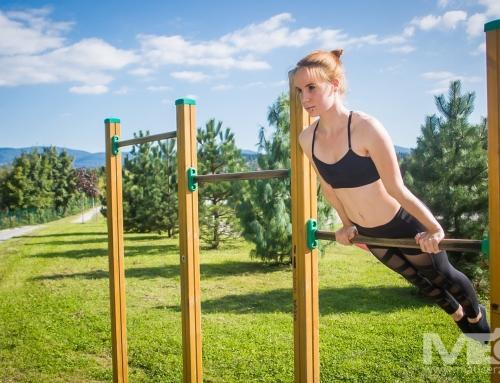 Diana Lapanović: Športnica in avanturistka, ki obožuje adrenalin.