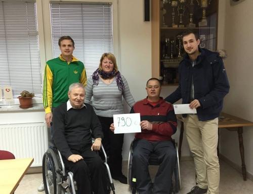 Žoltasti troti znova razveselili paraplegike